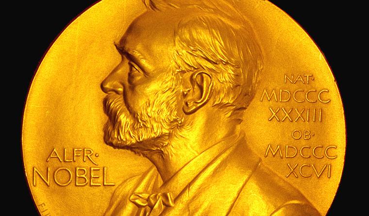 Nobel prize-medal